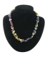 Chip Necklace 45 cm Rainbow Hematite