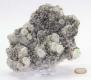 Rock Crystal and Chalkopyrite, Bulgaria No. 185