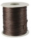 Wax cord 1.5 mm brown 180 m