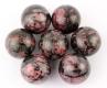 Balls (Spheres) Rhodonite 30 mm B-Quality