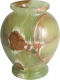 Vase bauchig 10 x 13 cm, Onyx-Marmor, 10 Stück