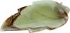 Schale Blatt 15 cm Onyx Marmor, 10 Stück