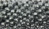 Loose strand of Titan covered Hematite faceted Ball 8 mm, 10 pieces