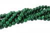 Loose Beads strands of Malachite-Imitation ball 8 mm, 10 pieces