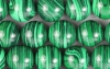 Loose Beads strands of Malachite-Imitation ball 12 mm, 10 pieces