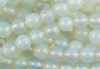 Loose strand of Opal Glass Balls 10 mm, 10 pieces
