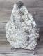 Rock Crystal, Spalerite and Pyrite, Peru MIN 304