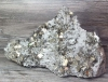 Rock Crystal and Pyrite, Peru MIN 312