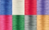 Wax cord 1.5 mm sorted colors, env. 100 m