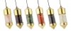 Brass Pendulum filldes with XXS-Stones group 1