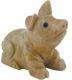 Glücksschwein 7 cm Speckstein, 10 Stück