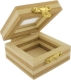 Wooden Boxes with Cover from Glas