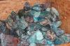 Chrysocolla rough 3-19 kg/pcs, Peru