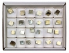 Box of natural Pyrite Dices S, 24 pieces