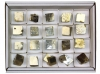 Box of natural Pyrite Dices L, 20 pieces