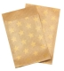 Paperbag golden Star 70 x 90 mm