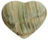 Herz 2.5 cm, Onyx-Marmor