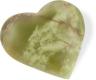 Herz 7.5 cm, Onyx-Marmor