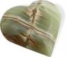 Herz 10 cm, Onyx-Marmor