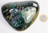 Azurite-Malachite Palm Stone No. 26
