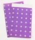 Paperbag Violet-Silver 95 x 140 mm