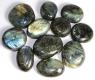 Labradorite Palm stones XL, B-quality