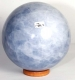 Ball (Sphere) blue Calcite No. 7