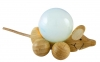 Rolling wooden Mouse for 30 mm balls (spheres)