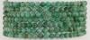Bracelet Ball faceted 3-4 mm Emerald
