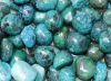 Chrysocolla Tumbled Stones B-quality