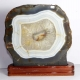 Agate with wooden base No. AC27