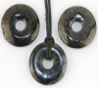 Donut 30 mm Schungite / Shungite B-quality